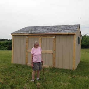 Carver Shed and Donna